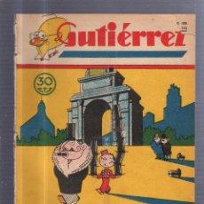 Collezionismo di Riviste e Giornali: REVISTA GUTIERREZ. MADRID. 22 MARZO 1930. AÑO IV. Nº 146.. Lote 56068309