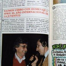 Coleccionismo de Revistas y Periódicos: RECORTE RAIMON. Lote 56111151