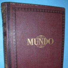Coleccionismo de Revistas y Periódicos: MUNDO REVISTA SEMANAL,DE 1940, TOMO CON 13 REVISTAS. Lote 56126848