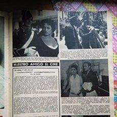 Collezionismo di Riviste e Giornali: RECORTE LOLA FLORES RUBEN ROJO MARIFE DE TRIANA VENTA DE VARGAS . Lote 56174742