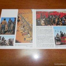 Collectionnisme de Revues et Journaux: RETAL DE LIBRO DE NOTICIAS DE 1975: SAHARA, MARCHA VERDE, LEGIÓN. Lote 56175347