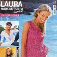 Coleccionismo de Revistas y Periódicos: LAURA MODA DE PUNTO ESPECIAL N. 24 - TENDENCIAS PARA TEJER Y HACER GANCHILLO (NUEVA). Lote 98394468