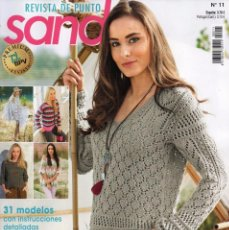 Coleccionismo de Revistas y Periódicos: SANDRA N. 11 - REVISTA DE PUNTO - 31 MODELOS CON INSTRUCCIONES DETALLADAS (NUEVA). Lote 56180156