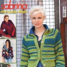 Coleccionismo de Revistas y Periódicos: SABRINA MARCANDO MODA N. 46 - MODELOS PARA GANCHILLO EN TALLAS 34-48 (NUEVA). Lote 126393236