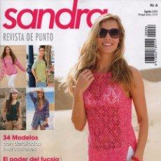 Coleccionismo de Revistas y Periódicos: SANDRA N. 6 - REVISTA DE PUNTO - 34 MODELOS CON DETALLADAS INSTRUCCIONES (NUEVA). Lote 179021448