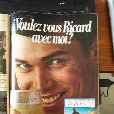 Coleccionismo de Revistas y Periódicos: RECORTE RICARD. Lote 56182852