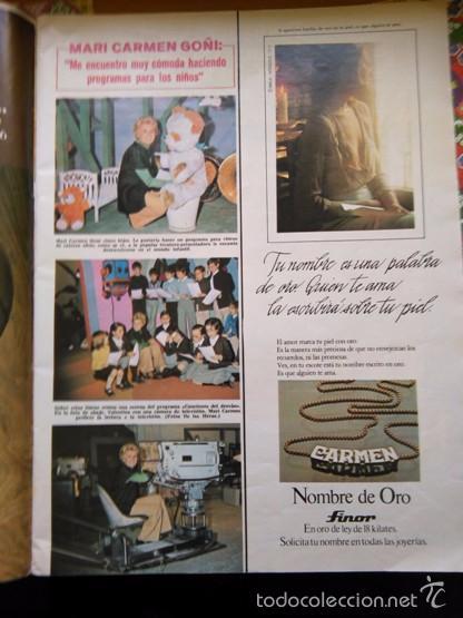 RECORTE MARI CARMEN GOÑI (Coleccionismo - Revistas y Periódicos Modernos (a partir de 1.940) - Otros)