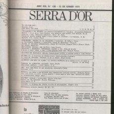 Coleccionismo de Revistas y Periódicos: SERRA D,OR TOMO AO 1971. Lote 56209523
