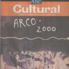 Coleccionismo de Revistas y Periódicos: ABC CULTURAL - 12 DE FEBRERO DE 2000. Lote 56211918