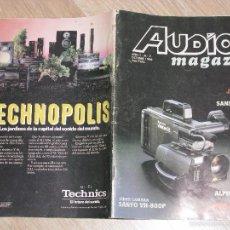 Coleccionismo de Revistas y Periódicos: REVISTA AUDIO MAGAZIN Nº 2. OCTUBRE 1986.. Lote 56218453