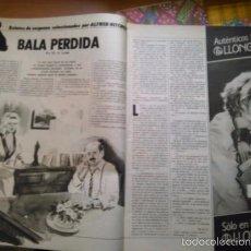 Coleccionismo de Revistas y Periódicos: RECORTE RELATOS SELECCIONADOS POR ALFRED HITCHCOCK. Lote 56218653