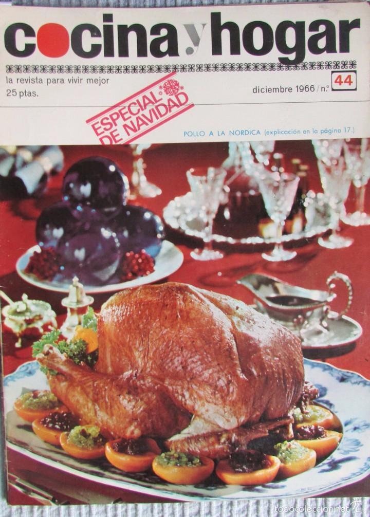 Revistas Decoracion Cocinas | Revista Cocina Y Hogar Nº 44 1966 Decoracion Kaufen Andere
