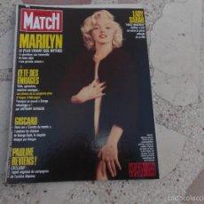 Colecionismo de Revistas e Jornais: PARIS MATCH SEP-88,SOLO EL REPORTAJE DE MARILYN MONROE, 17 PAGINAS,19 GRANDES FOTOS. Lote 56227558