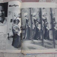 Colecionismo de Revistas e Jornais: REVISTA STERN,FECHA DESCONOCIDA, SOLO EL REPORTAJE DE MARILYN MONROE,5 PAGINAS,5 FOTOS ,EN ALEMAN. Lote 56229019