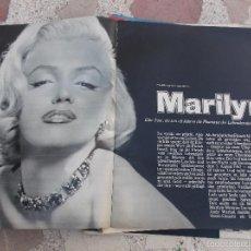 Colecionismo de Revistas e Jornais: REVISTA STERN,1972, SOLO EL REPORTAJE DE MARILYN MONROE,5 PAGINAS,13 FOTOS ,EN ALEMAN. Lote 56229638