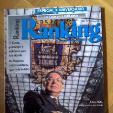 Coleccionismo de Revistas y Periódicos: REVISTA RANKING AGOSTO 1998. Lote 56234041
