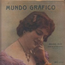 Collezionismo di Riviste e Giornali: MUNDO GRAFICO Nº 137 AÑO 1914, SANTANDER, MADRID, BARCELONA , EMPRESS OF IRELAND. Lote 56234062