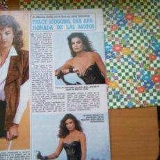 Coleccionismo de Revistas y Periódicos: RECORTE TRACY SCOGGINS LOS COLBY. Lote 56237949