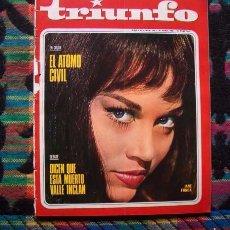 Coleccionismo de Revistas y Periódicos: REVISTA TRIUNFO 1966 / JANE FONDA. Lote 56242827