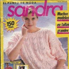 Coleccionismo de Revistas y Periódicos: SANDRA - EL PUNTO DE MODA- 40 IDEAS A PUNTO- 1988. Lote 56261358