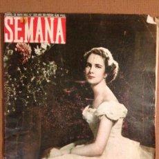 Coleccionismo de Revistas y Periódicos: REVISTA SEMANA - BELLEZAS ESPAÑOLAS - MAYO 1952. Lote 56265362