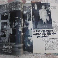 Colecionismo de Revistas e Jornais: REVISTA STERN,FECHA DESCONOCIDA, SOLO EL REPORTAJE DE MARILYN MONROE,4 PAGINAS,3 FOTOS ,EN ALEMAN. Lote 56270801