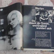Colecionismo de Revistas e Jornais: REVISTA STERN,FECHA DESCONOCIDA, SOLO EL REPORTAJE DE MARILYN MONROE,5 PAGINAS,6 FOTOS ,EN ALEMAN. Lote 56270878
