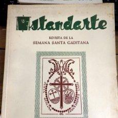 Coleccionismo de Revistas y Periódicos: CÁDIZ.ESTANDARTE.REVISTA DE LA SEMANA SANTA GADITANA.AÑO I.ABRIL 1957.. Lote 56282552