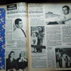 Coleccionismo de Revistas y Periódicos: RECORTE ANTHONY PERKINS TONY ALFRED HITCHCOCK. Lote 56283035