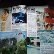 Coleccionismo de Revistas y Periódicos: RECORTE ROCIO JURADO CORRUPCION EN MIAMI VICE CROCLETT Y TUBBA. Lote 269983783