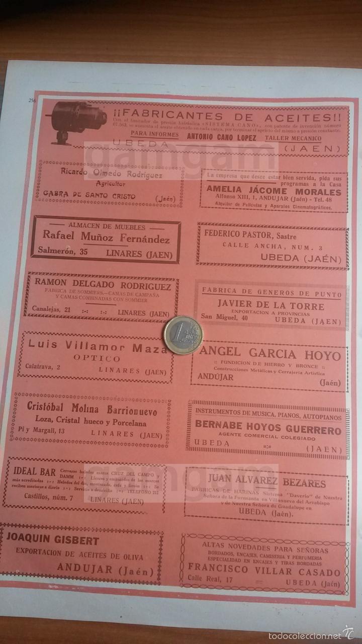 Anuncios Publicitarios De Linares Ubeda Andujar Comprar Revistas  # Muebles Ubeda Jaen