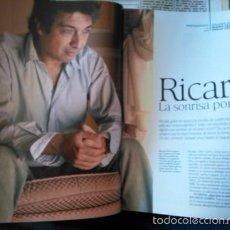 Coleccionismo de Revistas y Periódicos: RECORTE RICARDO DARIN. Lote 56302987