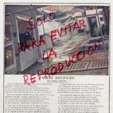 Coleccionismo de Revistas y Periódicos: MARTINEZ ABADES FIERAS ESTOICAS ILUSTRACION HOJA REVISTA. Lote 56314566