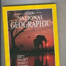 Coleccionismo de Revistas y Periódicos: NATIONAL GEOGRAPHIC 1991 MAY: ELEPHANTS. Lote 56338126