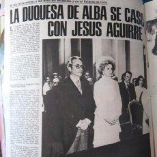 Coleccionismo de Revistas y Periódicos: RECORTE LA DUQUESA DE ALBA CAYETANA JESUS AGUIRRE . Lote 56375055