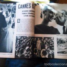 Coleccionismo de Revistas y Periódicos: RECORTE FESTIVAL DE CINE DE CANNES 1963 63 ALFRED HITCHCOCK TIPPI HEDREN ANNABEL BUFFET . Lote 56375625