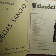 Coleccionismo de Revistas y Periódicos: 1960 REVISTA DE LA SEMANA SANTA GADITANA , CADIZ , ABRIL COFRADIAS DE PENITENCIA. Lote 56491400