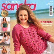 Coleccionismo de Revistas y Periódicos: SANDRA N. 7 - REVISTA DE PUNTO - 31 MODELOS CON DETALLADAS INSTRUCCIONES (NUEVA). Lote 147558230