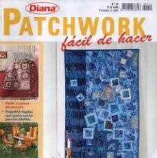 Coleccionismo de Revistas y Periódicos: DIANA PATCHWORK N. 14 (NUEVA). Lote 56514003