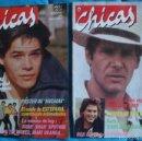 Coleccionismo de Revistas y Periódicos: REVISTA CHICAS DE BRUGUERA, Nº 11-JORGE SANZ-EURYTMICS- Nº 12 HARRISO FORD-QUEEN-DURAN-DURAN. Lote 56515599