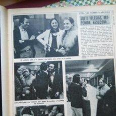 Coleccionismo de Revistas y Periódicos: RECORTE JULIO IGLESIAS ISABEL PREYSLER . Lote 121099091
