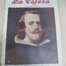 Coleccionismo de Revistas y Periódicos: REVISTA LA ESFERA. ILUSTRACION MUNDIAL. AÑO III. 11 MARZO 1916. Nº 115.. Lote 56559627