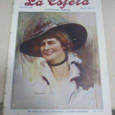 Coleccionismo de Revistas y Periódicos: REVISTA LA ESFERA. ILUSTRACION MUNDIAL. AÑO III. 26 FEBRERO 1916. Nº 113.. Lote 56559653