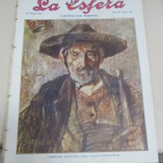 Coleccionismo de Revistas y Periódicos: REVISTA LA ESFERA. ILUSTRACION MUNDIAL. AÑO III. 25 MARZO 1916. Nº 117.. Lote 56559664