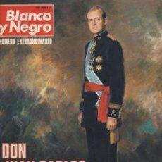 Coleccionismo de Revistas y Periódicos: REVISTA BLANCO Y NEGRO-NUMERO EXTRAORDINARIO-DON JUAN CARLOS REY DE ESPAÑA. Lote 56576528