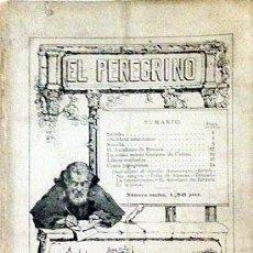 Coleccionismo de Revistas y Periódicos: EL PEREGRINO (VOL 1. Nº 1). 1912. REVISTA. (SOROLLA; NOBLEZA AMERICANA; AURELIANO DE BERUETE; ETC.. Lote 56580192