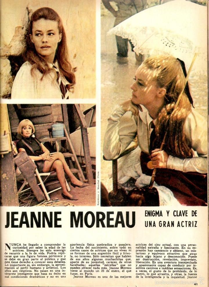 Coleccionismo de Revistas y Periódicos: AÑO 1968 HISTORIA REINA MARIA DE LAS MERCEDES PATRIMONIO ARTISTICO SIGUENZA CINE JEANNE MOREAU - Foto 6 - 56585984