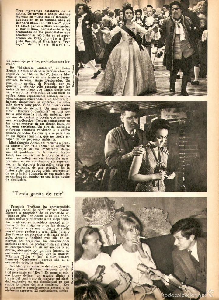 Coleccionismo de Revistas y Periódicos: AÑO 1968 HISTORIA REINA MARIA DE LAS MERCEDES PATRIMONIO ARTISTICO SIGUENZA CINE JEANNE MOREAU - Foto 7 - 56585984