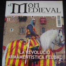 Coleccionismo de Revistas y Periódicos: EL MON MEDIEVAL 11. LA REVOLUCIO ARMAMENTISTICA FEUDAL. CATALÁN.. Lote 56589756