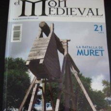 Coleccionismo de Revistas y Periódicos: EL MON MEDIEVAL 21. LA BATALLA DE MURET. CATALÁN.. Lote 56589810